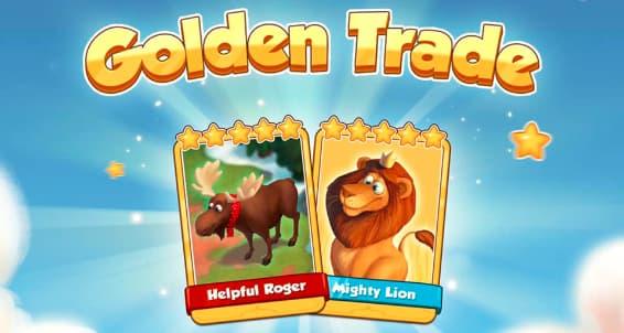 Coin Master Golden card trade