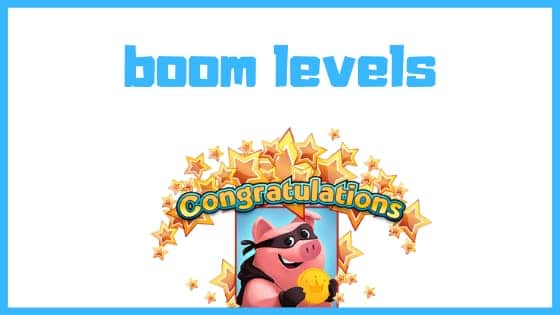 coin master boom levels