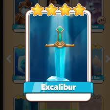 Excalibur coin master card