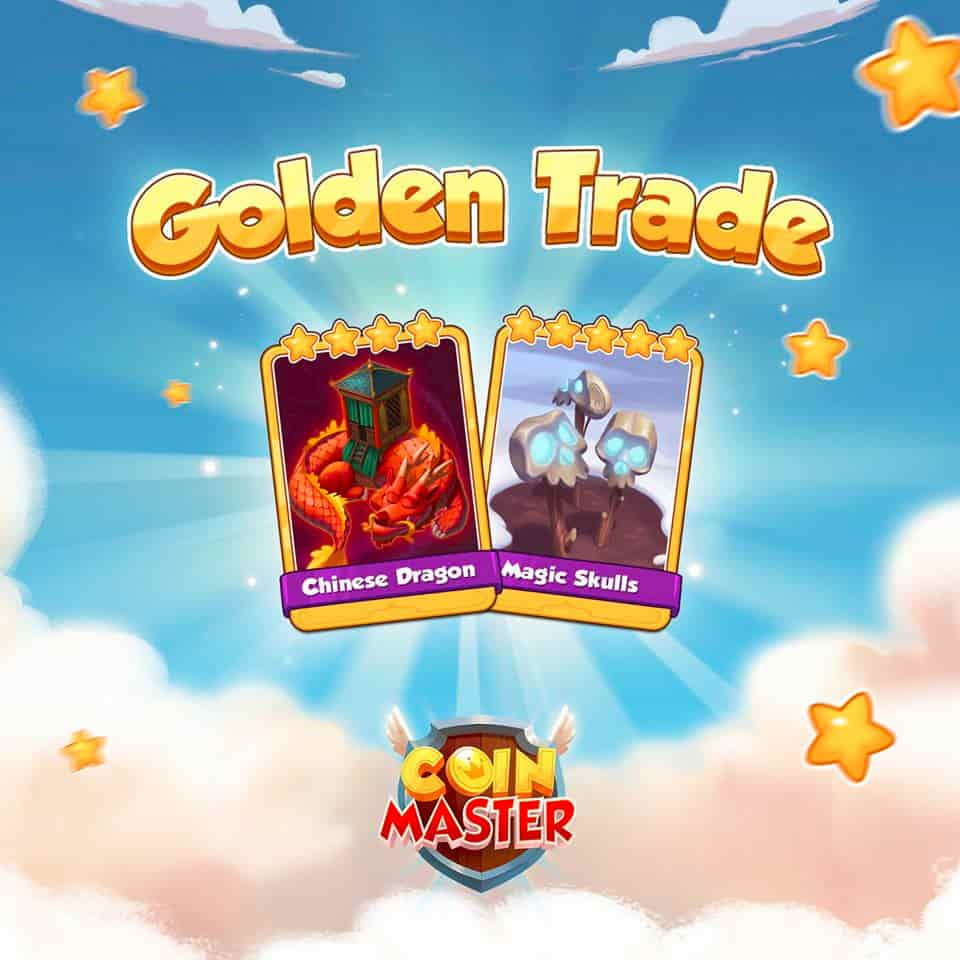 Coin Master Golden Card trade event link