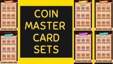 Coin Master card set list