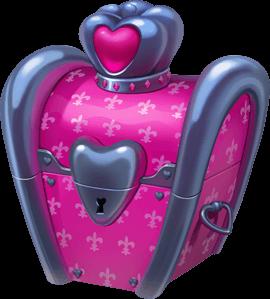 Valentine chest in coin master