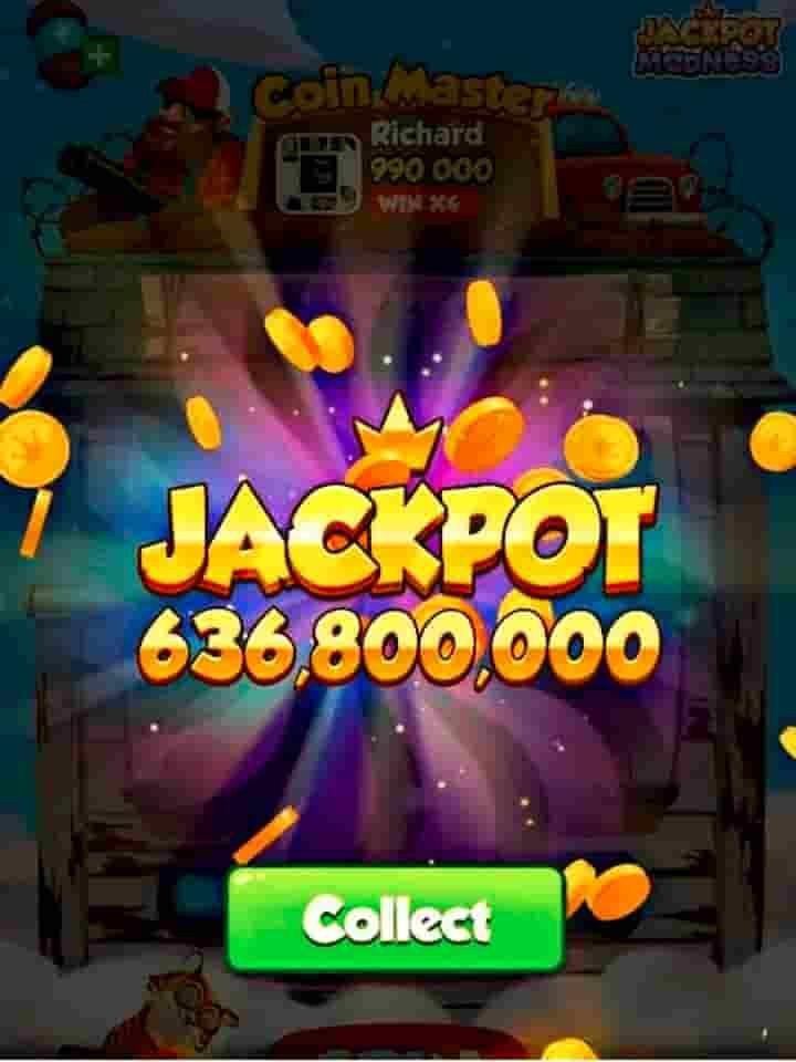 coin master jackpot event