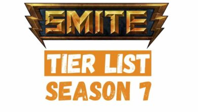 New SMITE Tier List Season 7(1)
