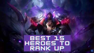 heroes to rank up in Mobile Legends Bang Bang