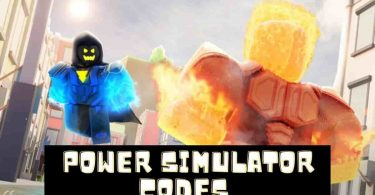 Roblox Power Simulator codes
