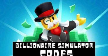 Roblox Billionaire Simulator codes list