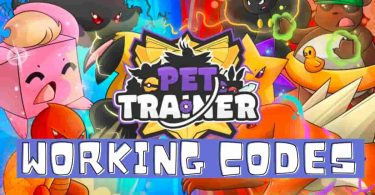 Roblox Pet Trainer codes