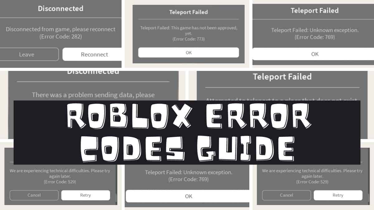 FIX Error Code 524 Roblox:Not authorized to join this game ...