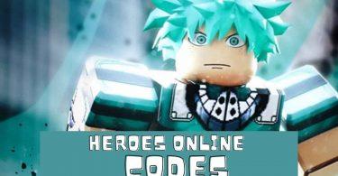 Roblox heroes online codes list 2020