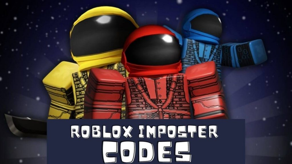 New Roblox Imposter codes 2020