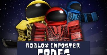 Roblox imposter codes