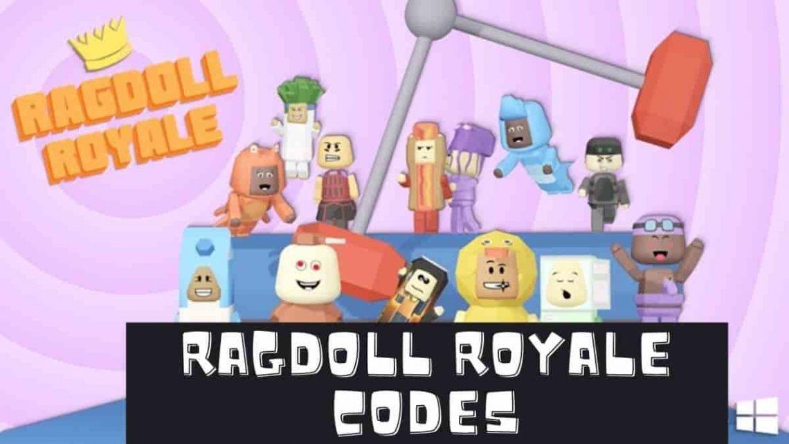 Secret Roblox Ragdoll Royale codes list 2020