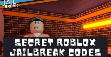 Secret Roblox jailbreak codes 2020