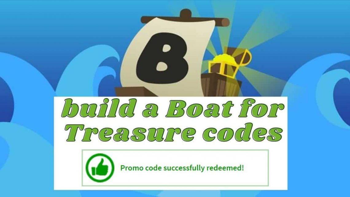 build a Boat for Treasure codes