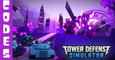 Tower Defense Simulator codes