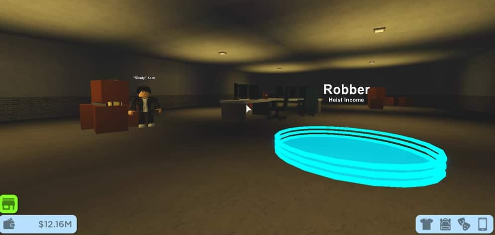 how to be a robber in RoCitizens