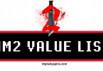 roblox murder mystery 2 value list