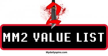 Roblox Murder Mystery Knife Values Murder Mystery 2 Value List Mydailyspins Com