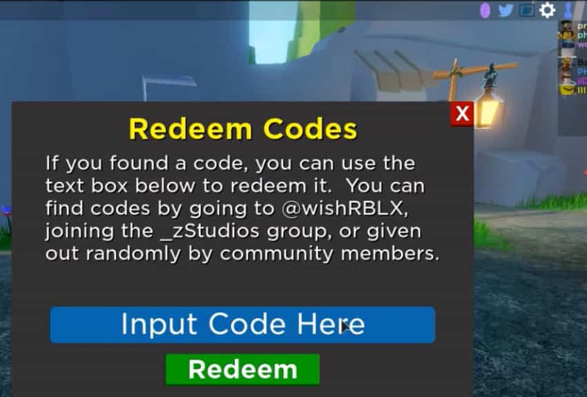 Roblox Hero Havoc codes