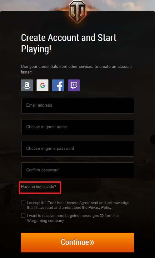 How to redeem the WOT codes