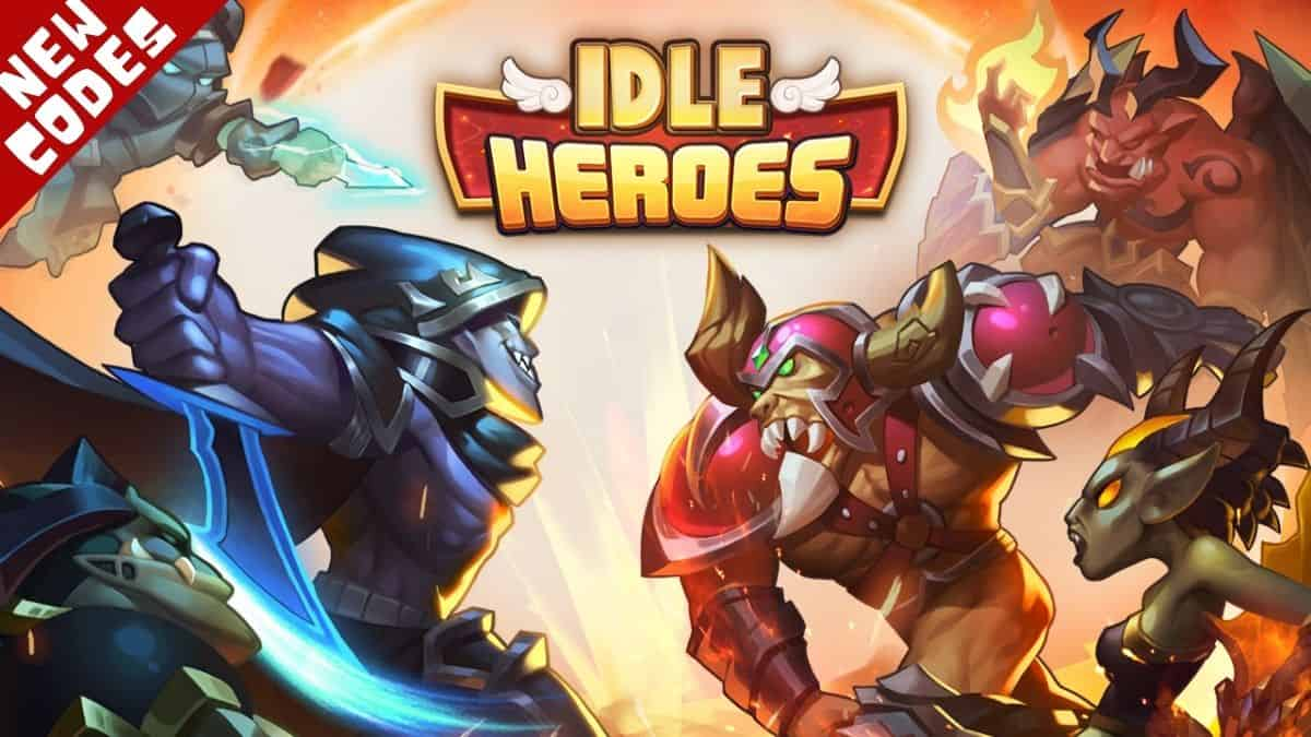 Idle Heroes codes (Easy to Copy) December 2020