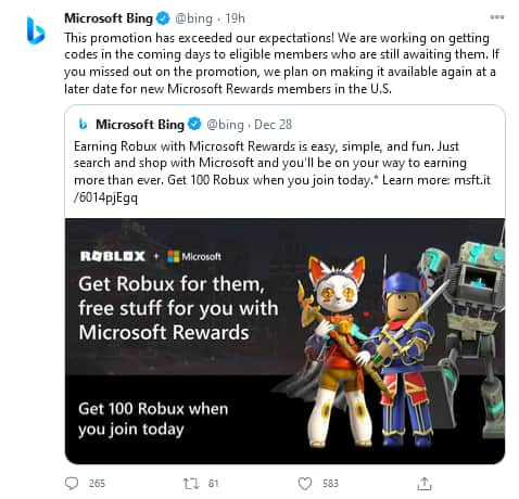 Roblox Microsoft Rewards For Free Robux and Gift Cards