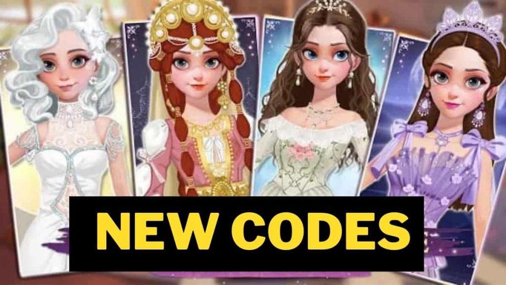 Dress Up Time Princess codes