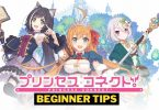 Princess Connect Re:Dive beginner Tips