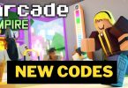 Roblox Arcade Empire codes
