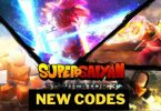 Super Saiyan Simulator 3 codes