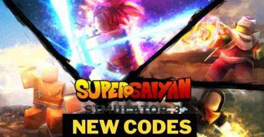 Super Saiyan Simulator 3 codes