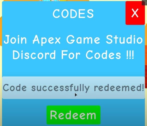 Apex simulator codes