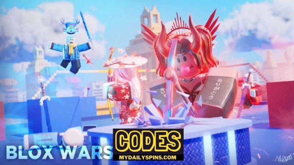 Blox Wars Codes Roblox