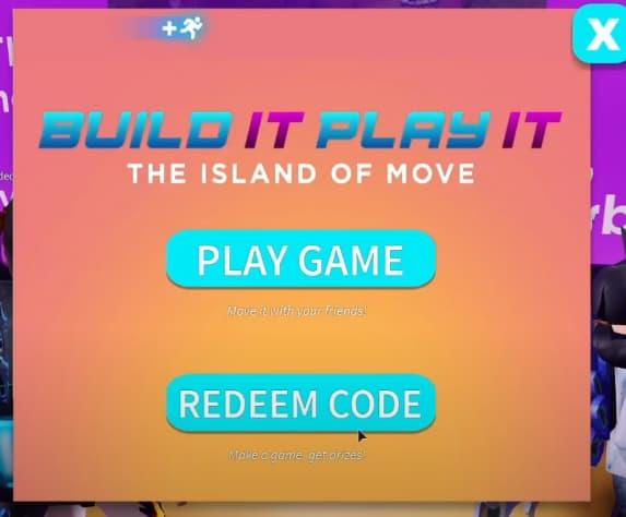 Island of move codes