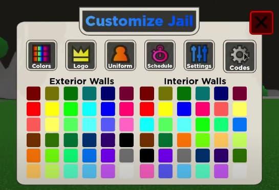 Jail tycoon codes