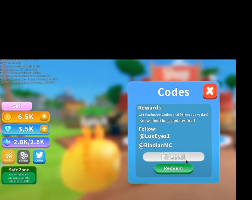 Magic simulator codes