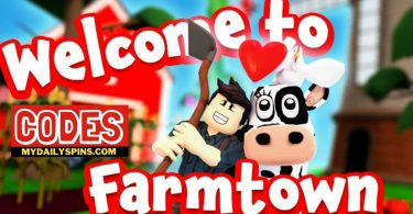 Roblox welcome to farmtown Codes list