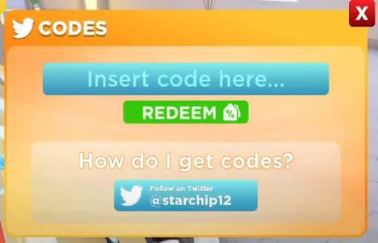Roblox Uno codes