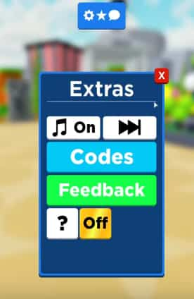 Roblox vehicle weight lifting Codes list