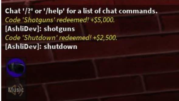 Zombie uprising codes