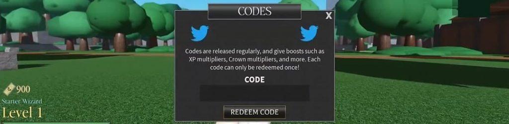 World Of Magic Codes