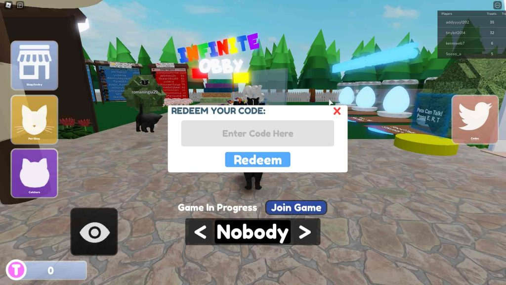Roblox The Catcher Codes