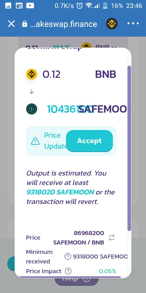 Buy Safemoon select the amount you want to swap and choose safemoon and click swap
