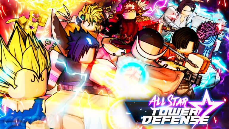 Best Anime Games on Roblox All Star Tower Defense