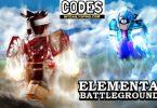 Roblox Elemental Battlegrounds Codes list