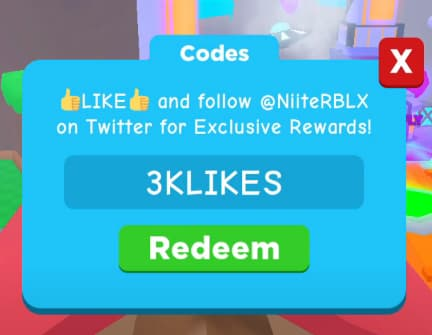 Ninja Simulator Codes