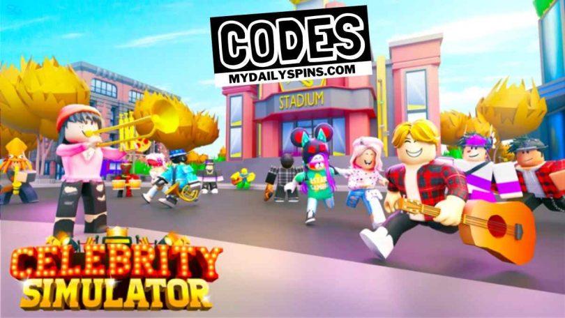 Roblox Celebrity Simulator codes