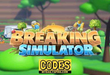 Roblox Breaking Simulator Codes
