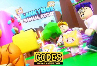 Roblox Lankybox Simulator Codes